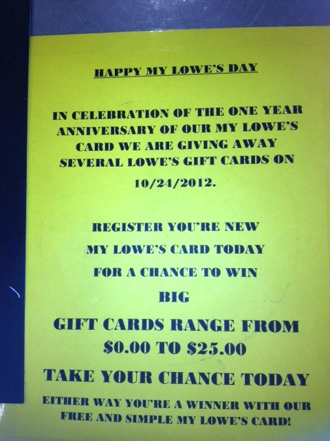 My Lowes Card >> Register You Re New My Lowe S Card Today Apostrophe Abuse